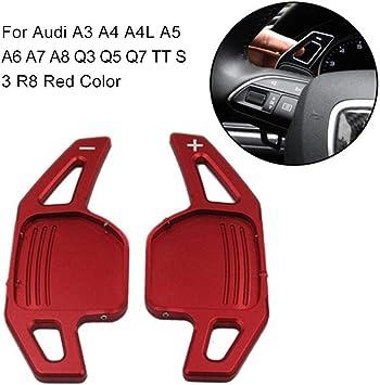 voloki In Lega di Alluminio Car Shift Paddle Prolunga Automatica Shifter Pad Adatto per Audi A3 A4 A4L A5 A6 A7 A8 Q3 Q5 Q7 TT S3 R8 Lovely