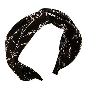 Boho Headwrap for Women Rainbow Yoga Knit Headband Natural Hair Accessories