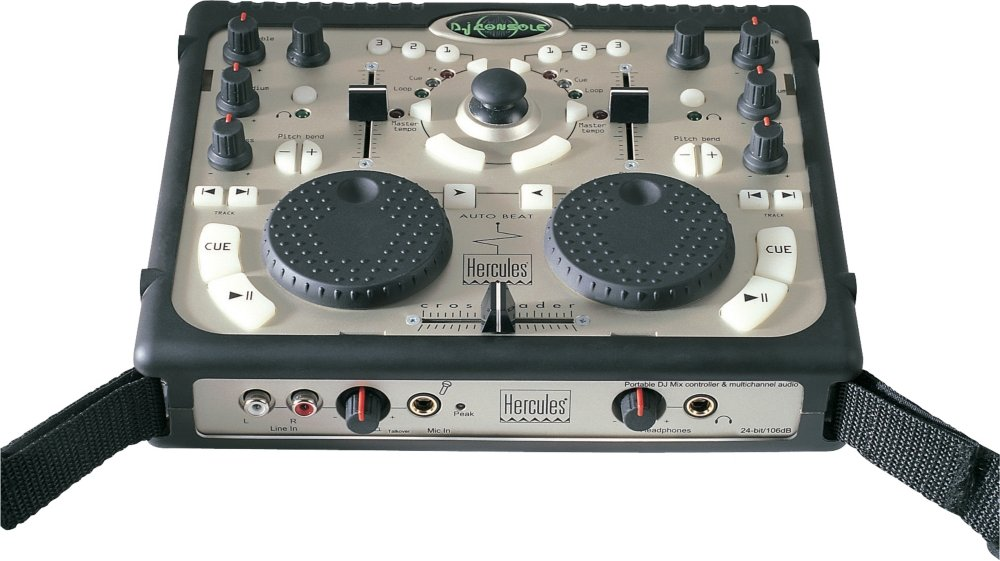 Amazon.com: Hercules DJ DJ Console Portable DJ Controller/USB Interface: Musical Instruments