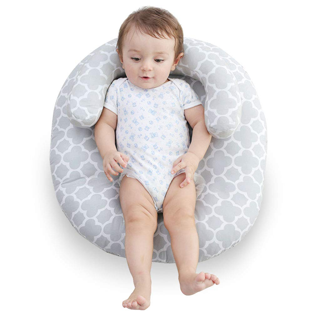 Hoomall Upgraded Version of July 2018 Newborn Lounger, Portable Soft, Create a Moment of Hands-Free Bliss for Mom (Upgraded New) Ourstory