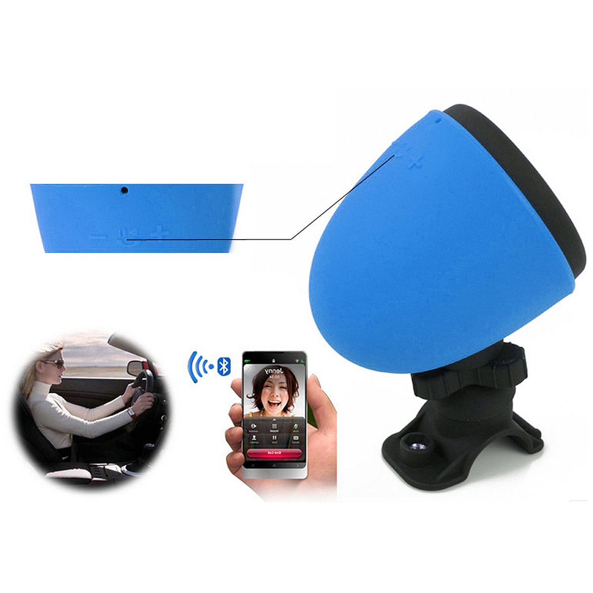 Sonlipo Bluetooth Waterproof Microphone Bicycling Image 3