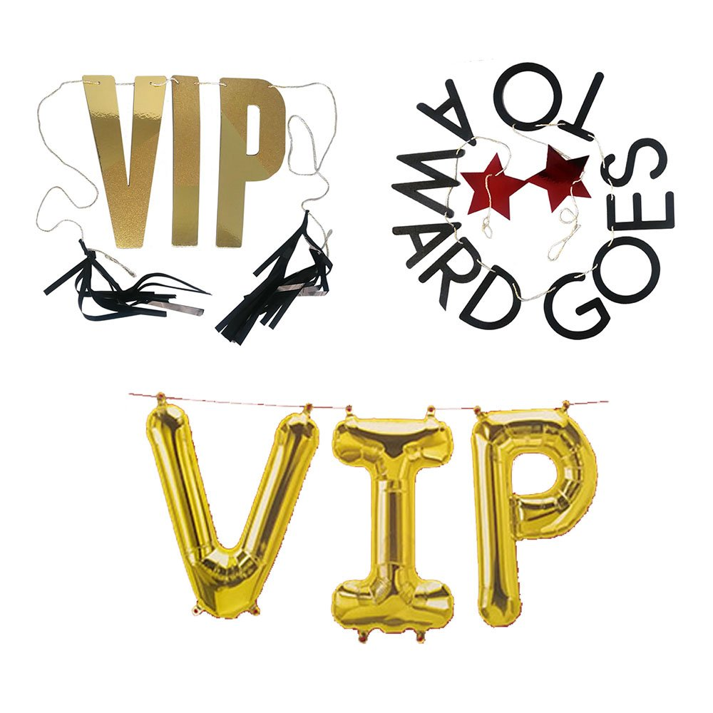 Amazon Com Hollywood Vip Awards Ceremony Party Decorations Supplies