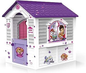 Chicos - Patrulla Canina Skye Casita Infantil de Exterior, Blanca con tejado púrpura (La Fábrica de Juguetes 89536): Amazon.es: Juguetes y juegos