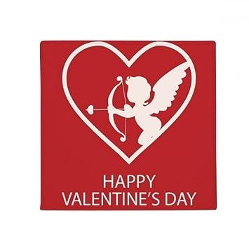 Amazon De Diythinker Weisser Engel Pfeil Valentinstag Anti Rutsch