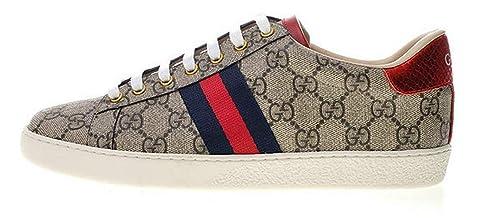 dettagliare morbido e leggero anteprima di Gucci Ace GG Supreme Sneaker 429445 K2Lh0 9767 Uomo Donna ...