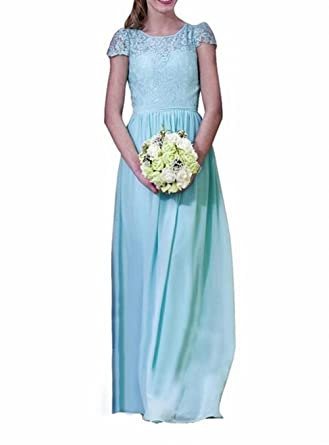 Leader of the Beauty Womens Lace Bridesmaid Dress Formal Dresses Blue ...