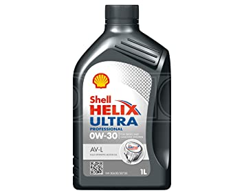 Aceite de motor totalmente sintético Helix Ultra Profesional AV L 0w 30, 550041828, 1 litro, por Shell: Amazon.es: Coche y moto