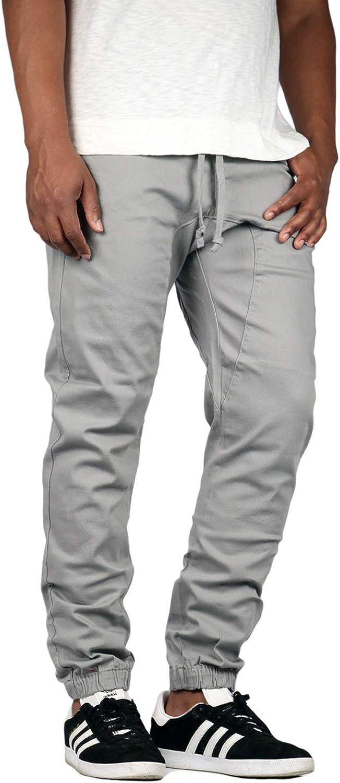 Mersenne Mens Twill Drop Crotch Jogger Pants