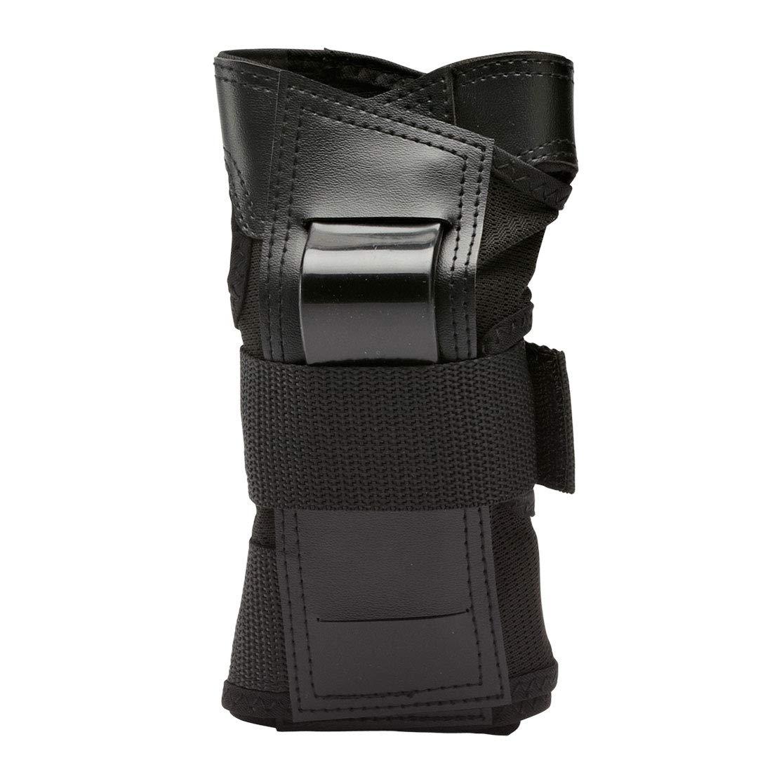 K2 2015 Men's Prime Skating Wrist Guard - I140400801 (Black - M)