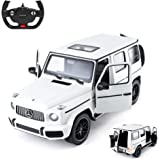 Rastar Off-Road Remote Control Car, 1:14 Mercedes-AMG G63 R/C Off-Roader Toy Car, Doors Open/Working Lights - White/2…