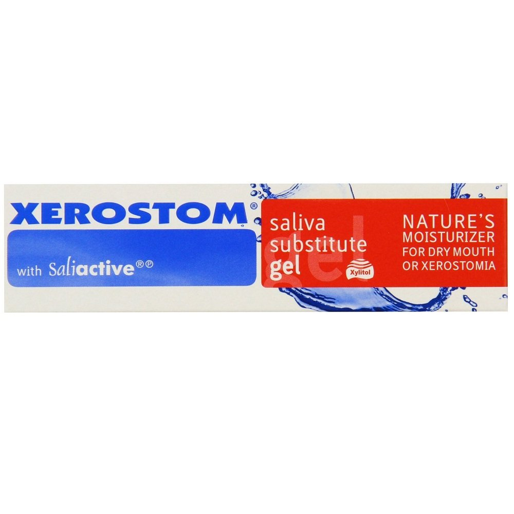 Xerostom With Saliactive For Dry Mouth Or Xerostomia Saliva Substitute Gel 25ml