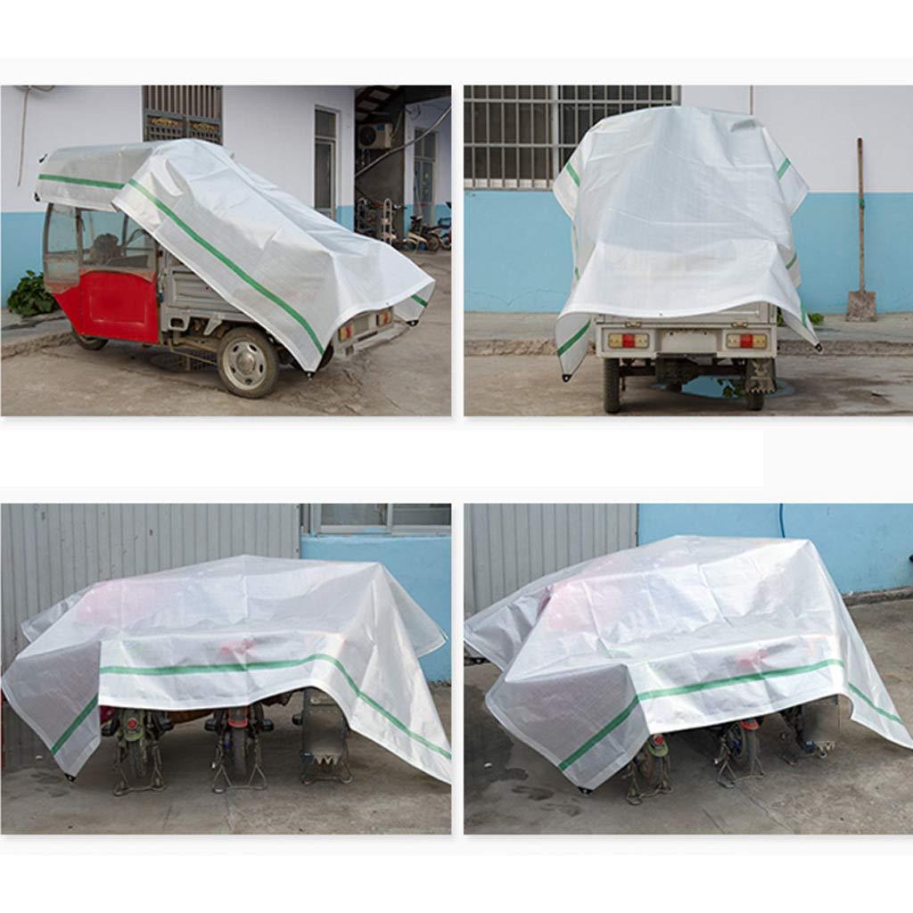 LYL telone impermeabile impermeabile impermeabile Tela cerata resistente alla prossoezione solare, tela cerata super leggera per camion leggera super resistente all'ombra (Coloree   Multi-Coloreeeosso, Dimensione   2  2M)   tender    Prezzo Ragionevole  fc78b6