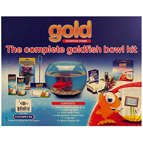Interpet Limited Complete Goldfish Starter Kit (One Size) (Multicolored) by Interpet Limited