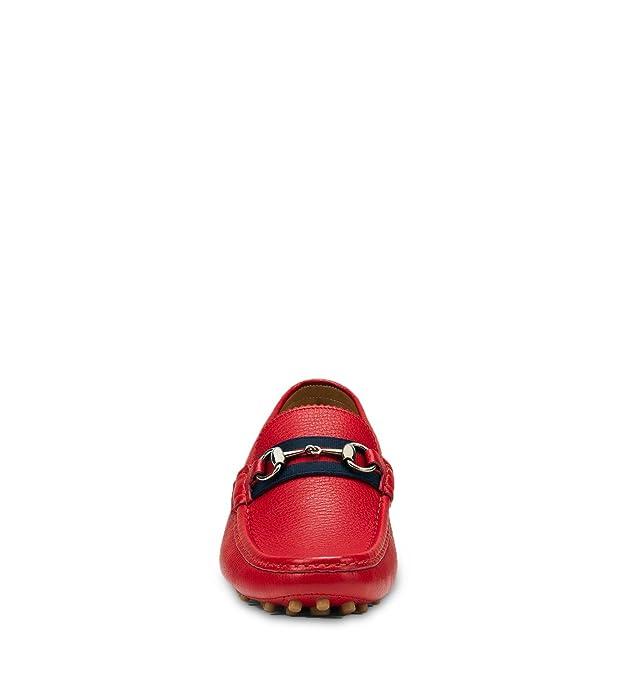 ab9772105a27e0 Amazon.com  Gucci Men s  Damo  Pebbled Leather Horsebit Driver