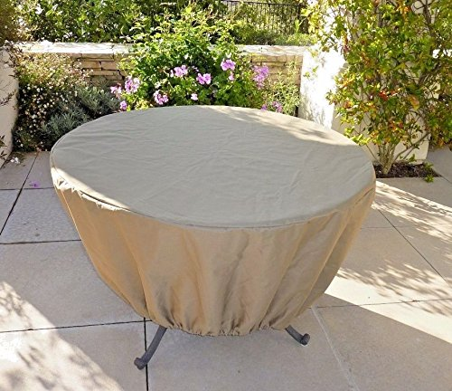 Premium Tight Weave Round or Square table cover up to 50