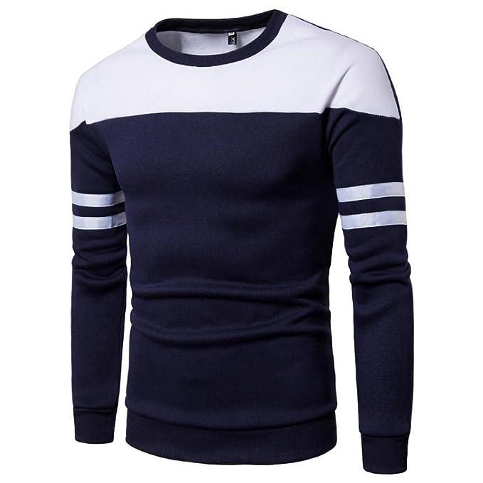 Logobeing Sudadera para hombre Autumn Winter Slim Coat Hombre Tops Blusas: Amazon.es: Ropa y accesorios