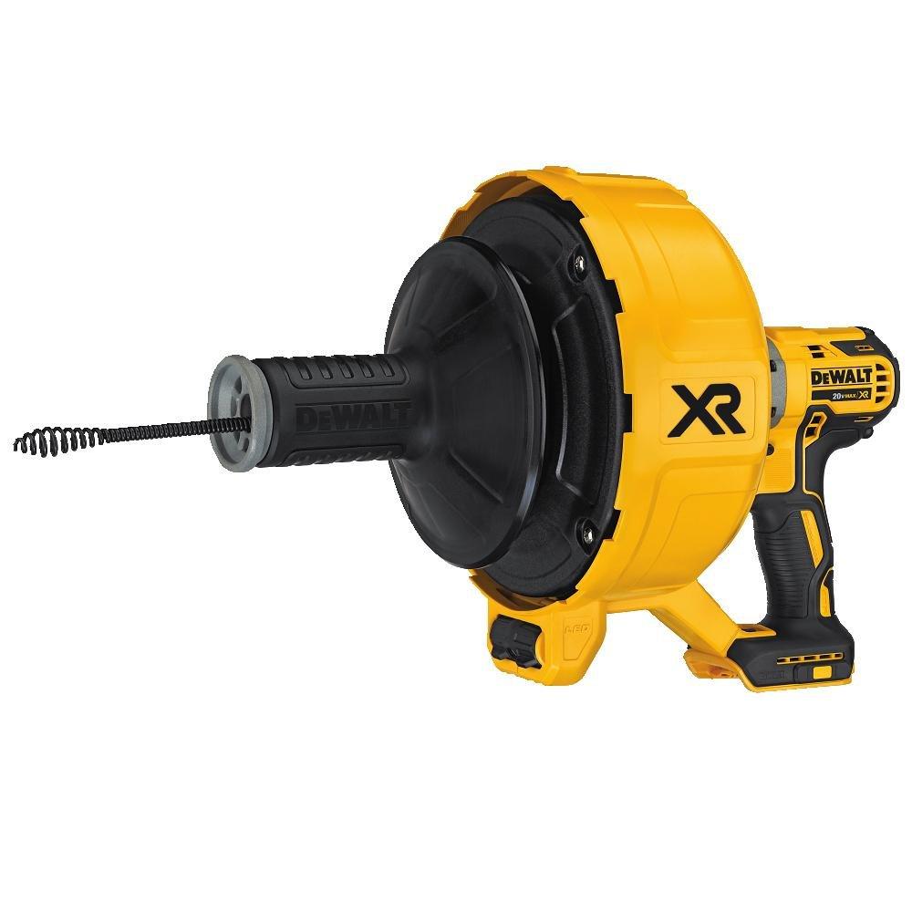 DEWALT DCD200B  20V MAX XR Brushless Drain Snake, Baretool
