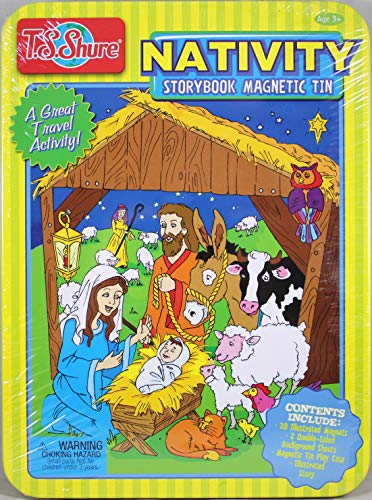 (T.S. Shure Nativity Magnetic Tin Activity Set)