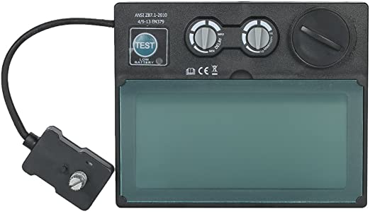 auto-darkening display LCD 110/x 90/x 9/mm Nuzamas casco saldatura lente di ricambio