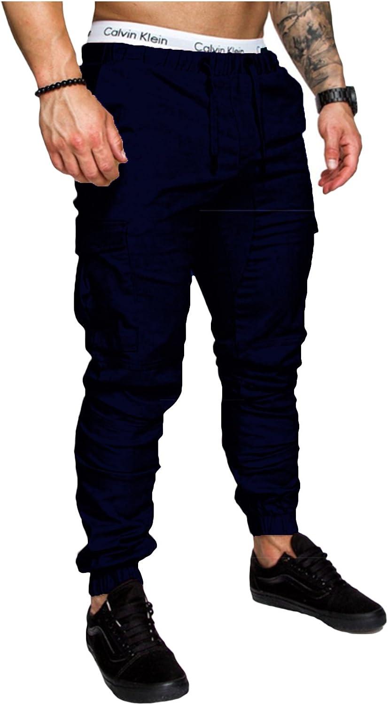 Jueshanzj Pantalon Chino Jogger Casual Para Hombre Amazon Com Mx Ropa Zapatos Y Accesorios