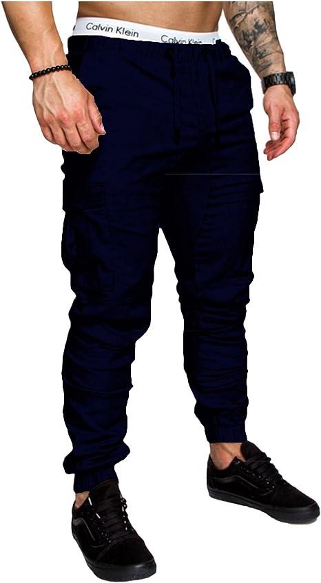 Letuwj - Casual Pantalones de Hippie para Hombre: Amazon.es ...