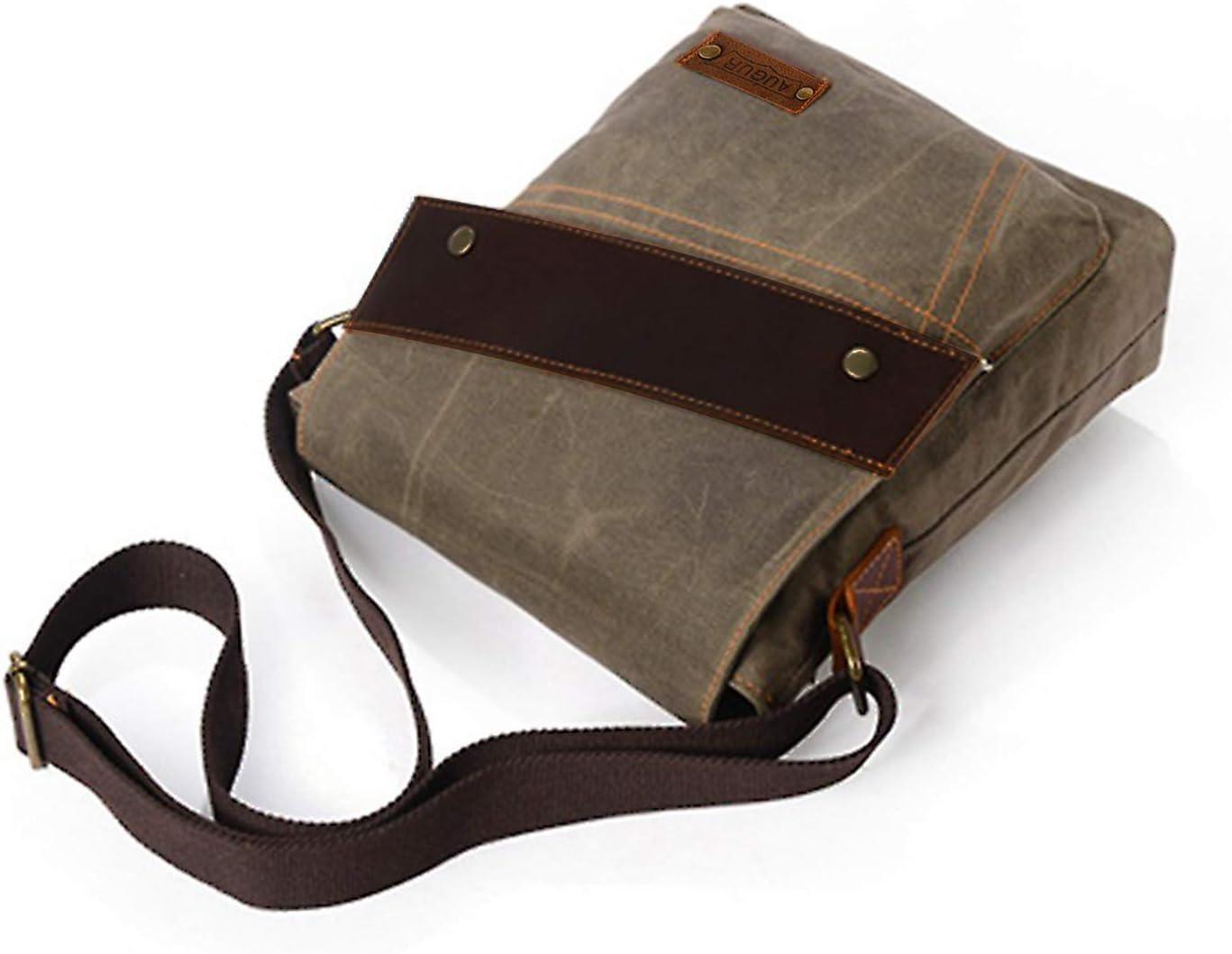 RTGFS Bolso Bandolera para Hombre, diseño Vintage, Color
