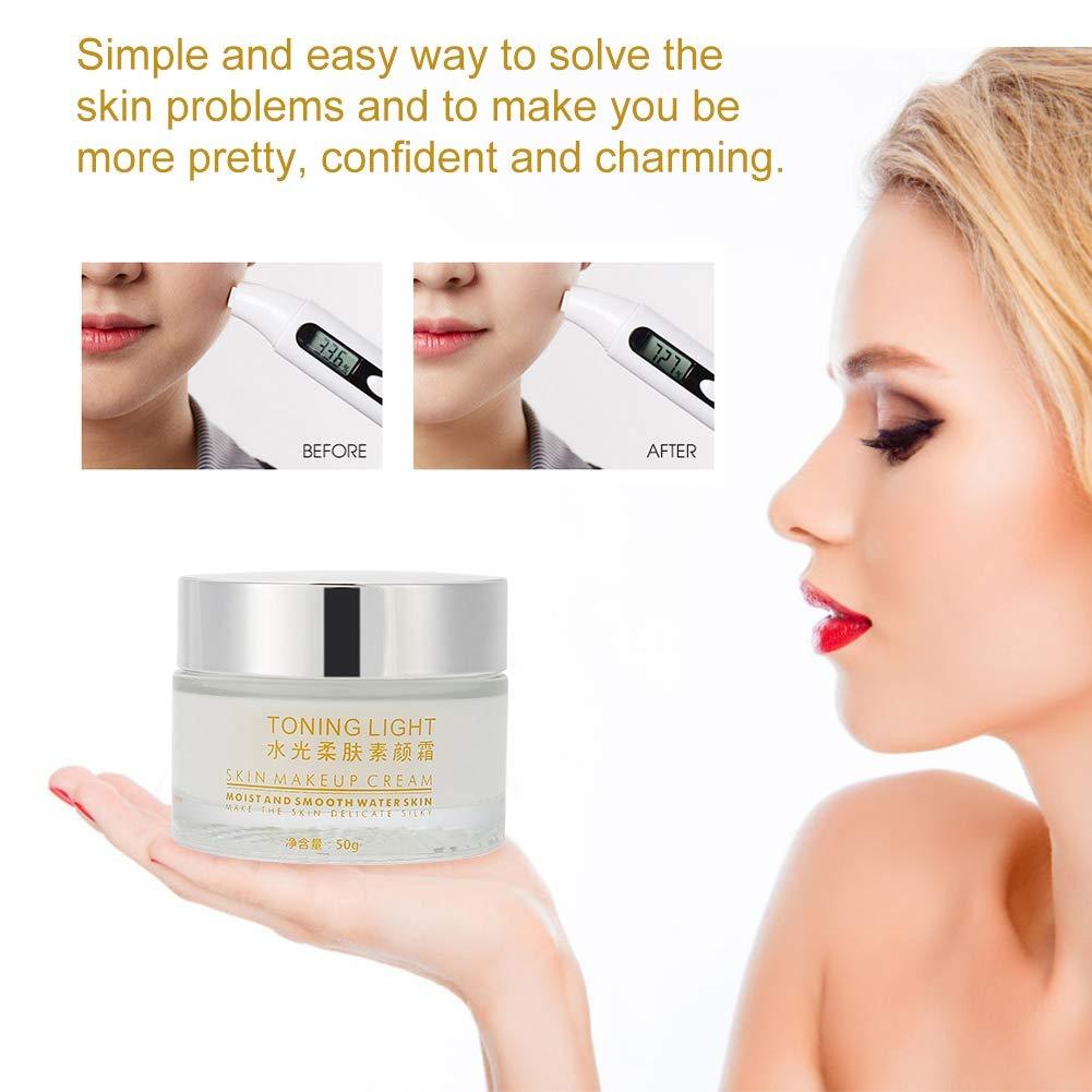Crema blanqueadora, Corrector hidratante facial desnudo para ...