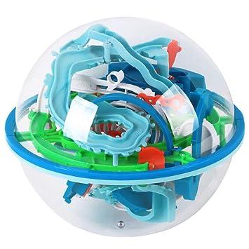 MKYVERAY 3D Laberinto Bola Pasatiempos con 138 Laberinto Juegos de ...