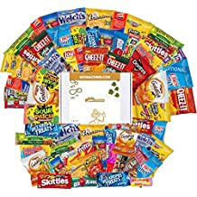 Go Snacking 115 Piece Full Snack Box College Care Package Office Snacks Military Care Package Snacks For Kids Camping Contains Bulk Snacks Candy Cookies Chips Nuts Dried Fruits Assortment Bundle