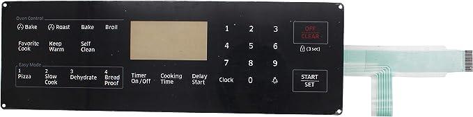 Range Touchpad Switch Membrane For Samsung NX58H5600SS NX58F5700WS NX58J5600SG