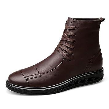 Zapatos de Hombre Botas para Hombre, Otoño Invierno Plus Velvet Warm Martin Boots Botines para