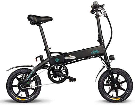 Currentiz FIIDO D1 Bicicleta eléctrica de montaña Plegable 14 ...