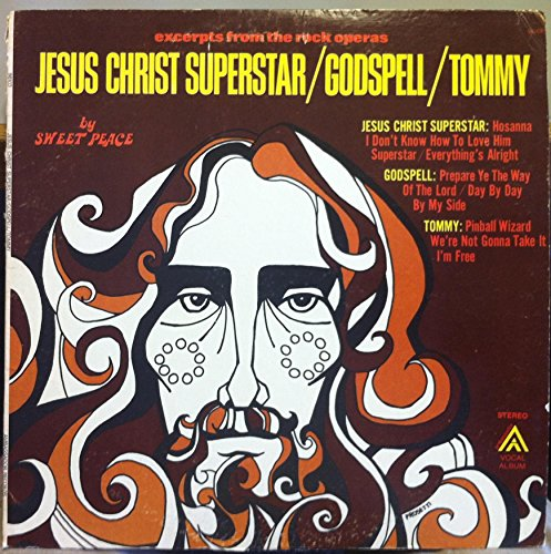 Price comparison product image SWEET PEACE JESUS CHRIST SUPERSTAR vinyl record
