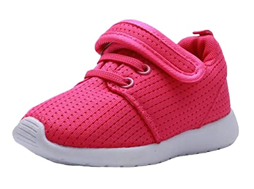 DADAWEN Baby's Boy's Girl's Breathable Strap Light Weight Sneakers Casual Running Shoes Gray US Size 7.5 M Toddler YL1fQO