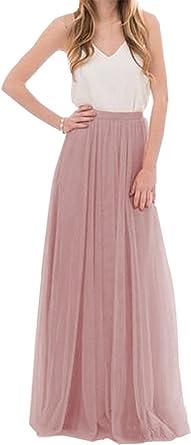 CoutureBridal® Femme Jupe Longue Jupe Maxi
