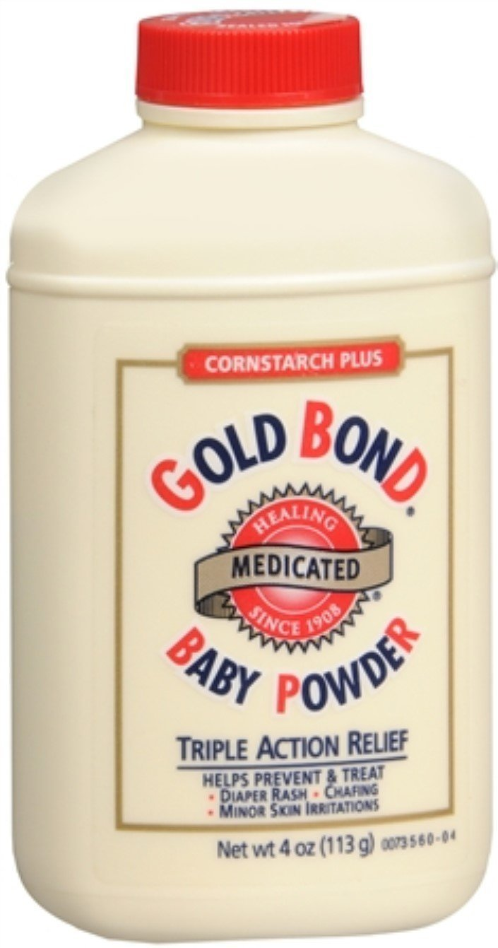 Gold Bond Cornstarch Plus Baby Powder, 3 Count by Gold Bond