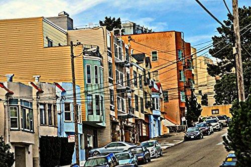 LAMINATED POSTER Streets Of San Francisco Illustrations Poster Print 24x - T3 Francisco San