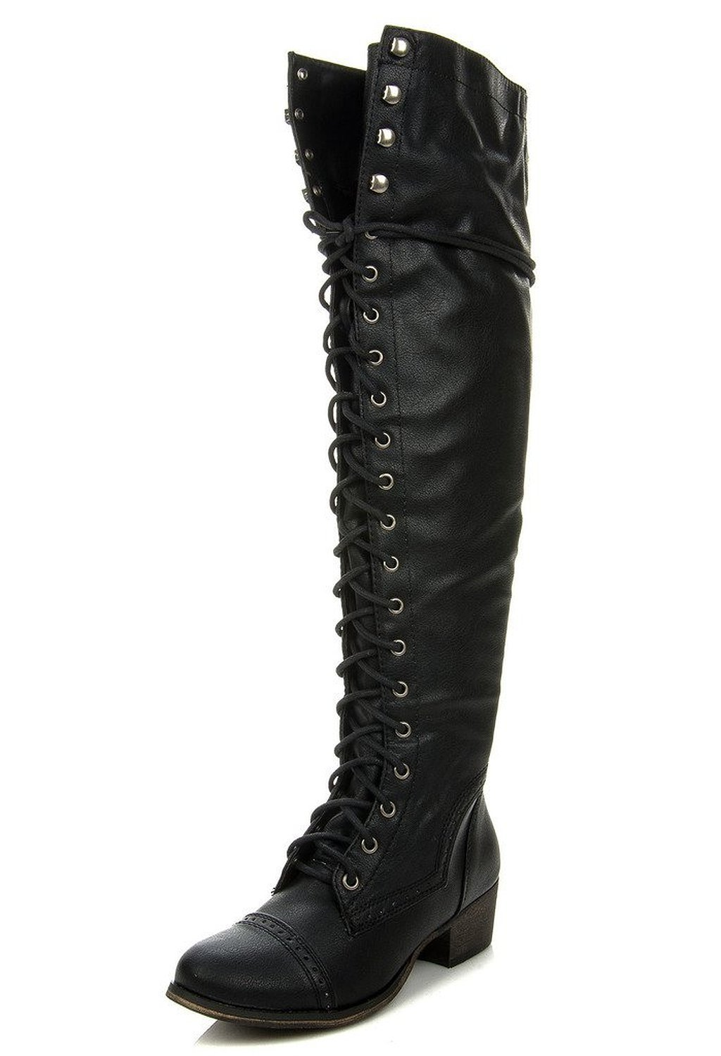 Breckelle's ALABAMA-12 Women's Knee High Riding Boots