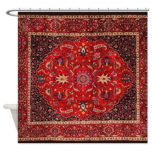 CafePress Antique Persian Curtain Decorative