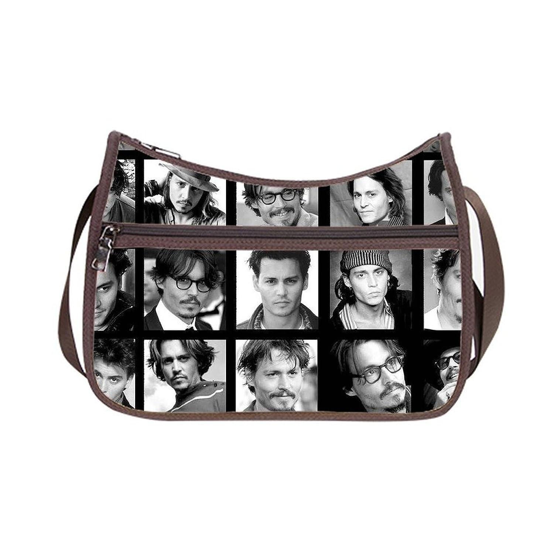 Angelinana Custom Johnny Depp Messenger Bag Shoulder Bag Casual Bags