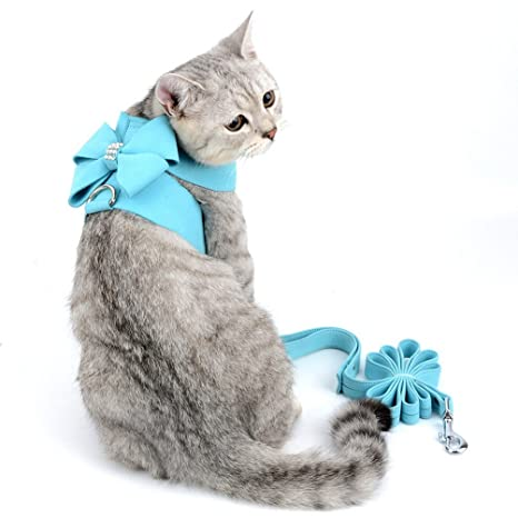 Smille_Lucky_Store - Arnés y Correa para Gato/Cachorro a Prueba de Escape, Cinta de