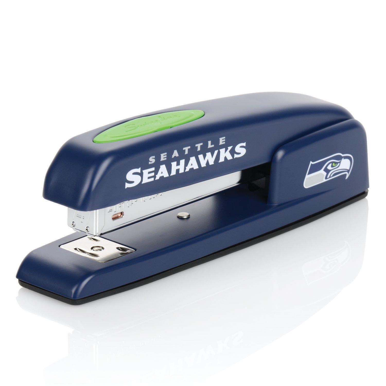 Seattle Seahawks Stapler, NFL, Swingline 747, Staples 25 Sheets (S7074079) by Swingline