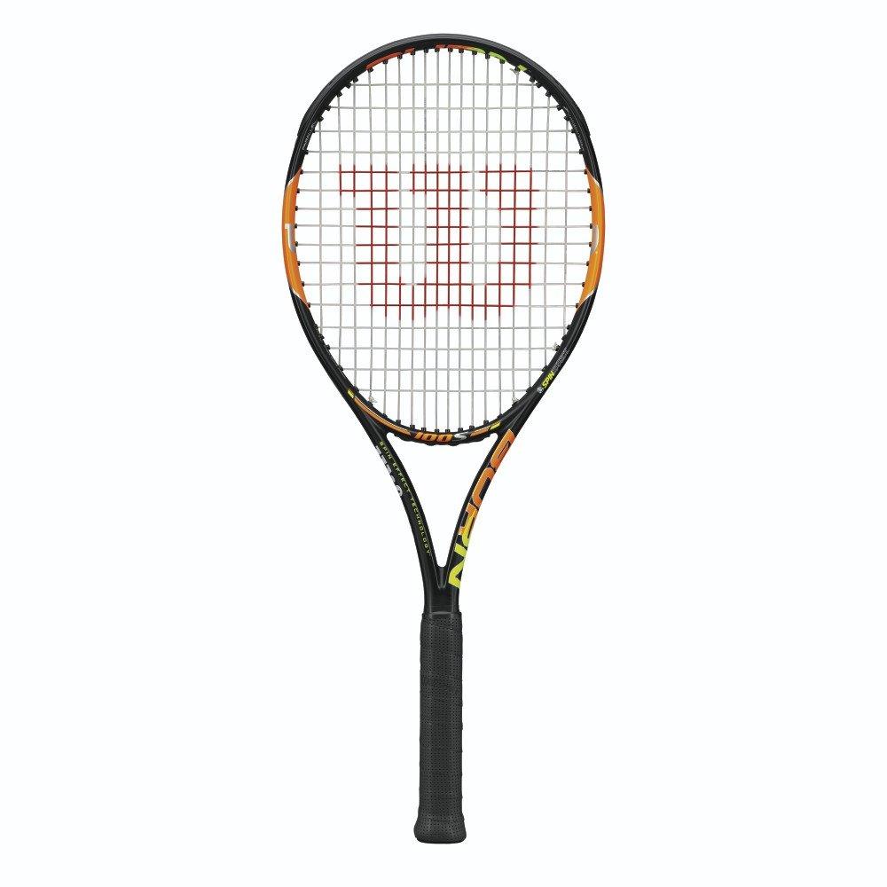 Wilson Burn 100S Tennis Racquet, 4 3/8 - unstrung