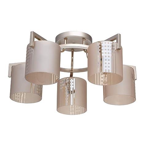 DeMarkt 673011805 Lámpara de Techo, Moderna, Elegante, de ...
