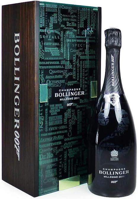 Bollinger 007 Limited Edition Millesime Champagne 75cl Presentado en un impresionante estuche de presentación de recuerdo -Ideas para cumpleaños, aniversario, negocios y empresas: Amazon.es: Alimentación y bebidas