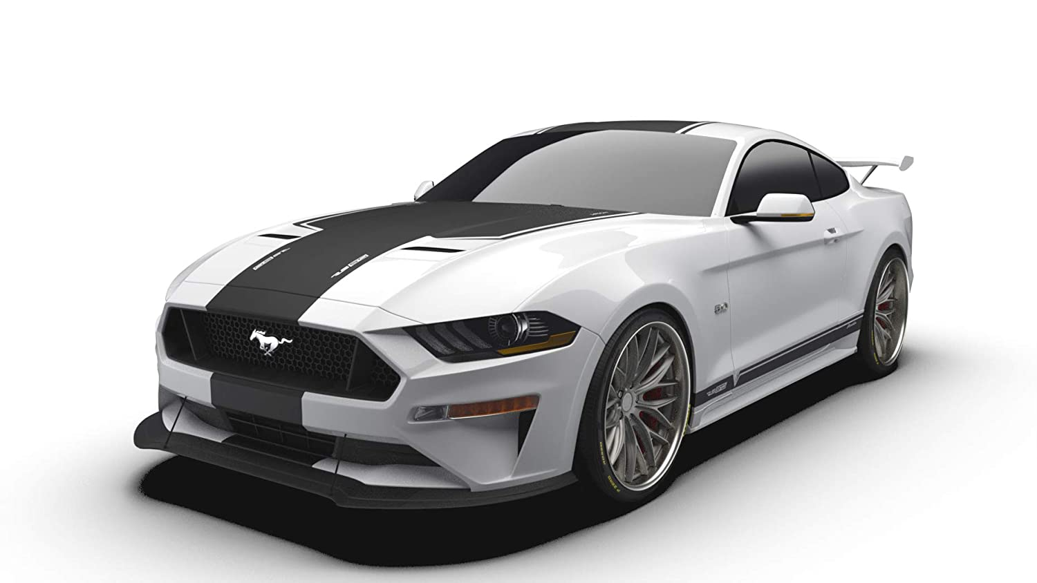 Raceskinz Rs Jargon Edition Premium Vinyl Graphics Kit Matte Black Fits  Ford Mustang Gt Quality Custom Vinyl Stripe Decal Graphic Sticker Body Kit
