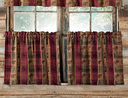Black Forest Decor High Country Window Tier - 36 Inch (Set of 2)