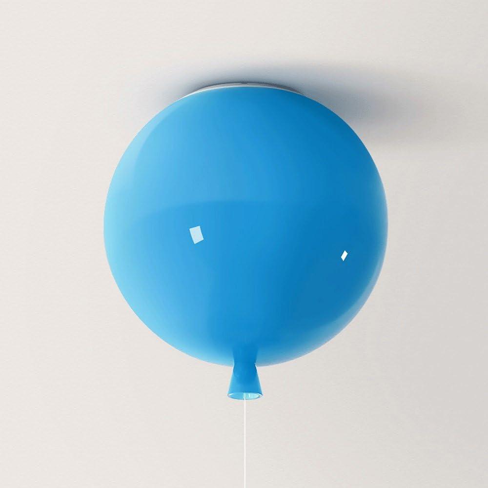 LED L/ámparas de techo creativo colorido n/órdica en forma de globo metal pendiente de iluminaci/ón decorativa luz del dormitorio rom/ántico c/álido a lo largo de acr/ílico del techo l/ámpara Ni/ños