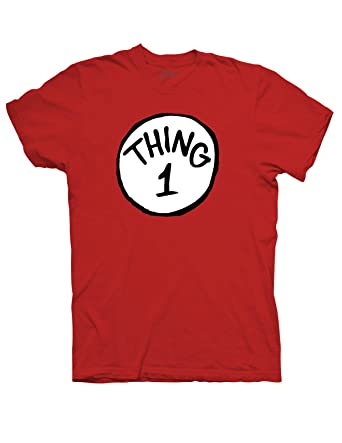 Amazon.com: Thing 1 T-Shirt-Red: Clothing