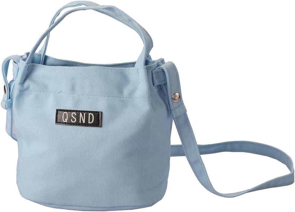 Blue Rocutus 1pcs Simple Canvas Bag Fashion Wild Large Capacity Shoulder Bag Tote Bag Crossbody Shoulder Bag Shopping Work Bag